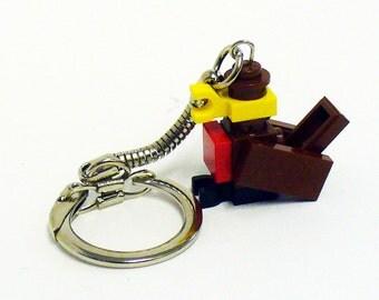 Mini Robin Red Brest Key chain