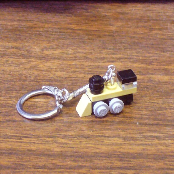 Tan Mini Train Engine Key chain
