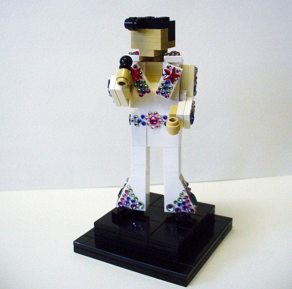 Custom Lego Elvis Presley Model