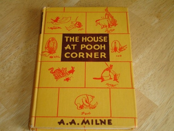 1941 the house at pooh corner vintage childrens book