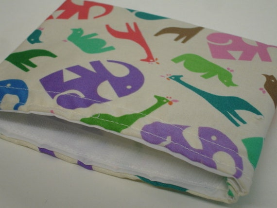 Zoo Menagerie Reusable Snack Bag  On Sale