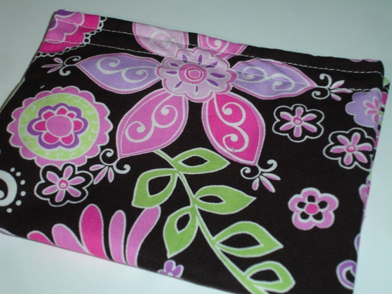 Boho Blossoms Reusable Snack Bag