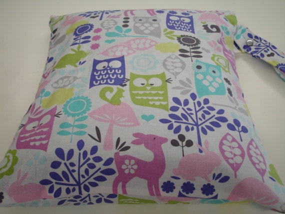 Forest Life in Orchid Wet Bag READY TO SHIP