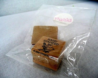"""STAMPIN' up - BIRD stamp - """"hand stamped by"""" - UNMOUNTED"""