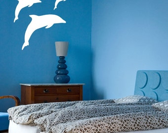 Dolphins Wall Vinyl Decals