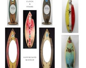 CUSTOM ORDER FOR - Kellie3 - Surfboard Frames n Surfboard Mirror
