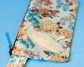 Pencil Pouch - A Little Birdy (Creme)
