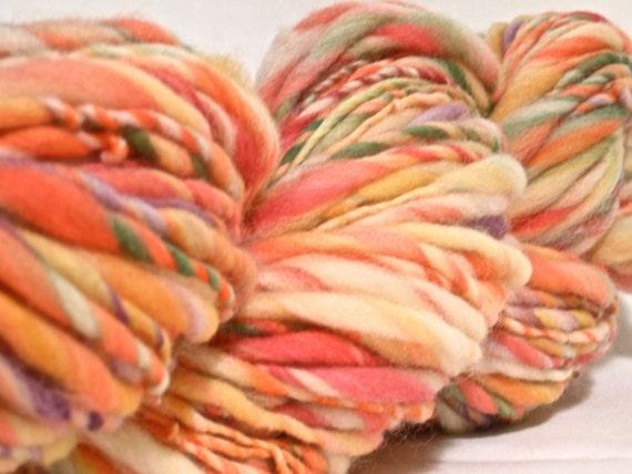 Handspun Merino and Targhee Wool Yarn - 125 yards Super Bulky Weight