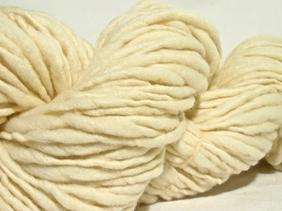 Handspun Merino Art Yarn - 100 yards Bulky Weight