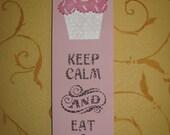 Cupcake Hanging Sign