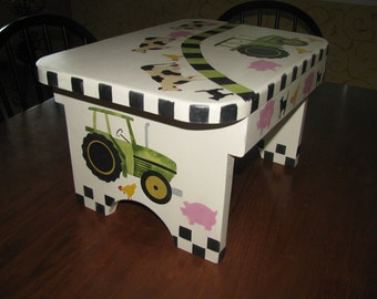 Tractor  Stepping Stool