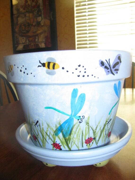 Flower Pot ...Garden Theme