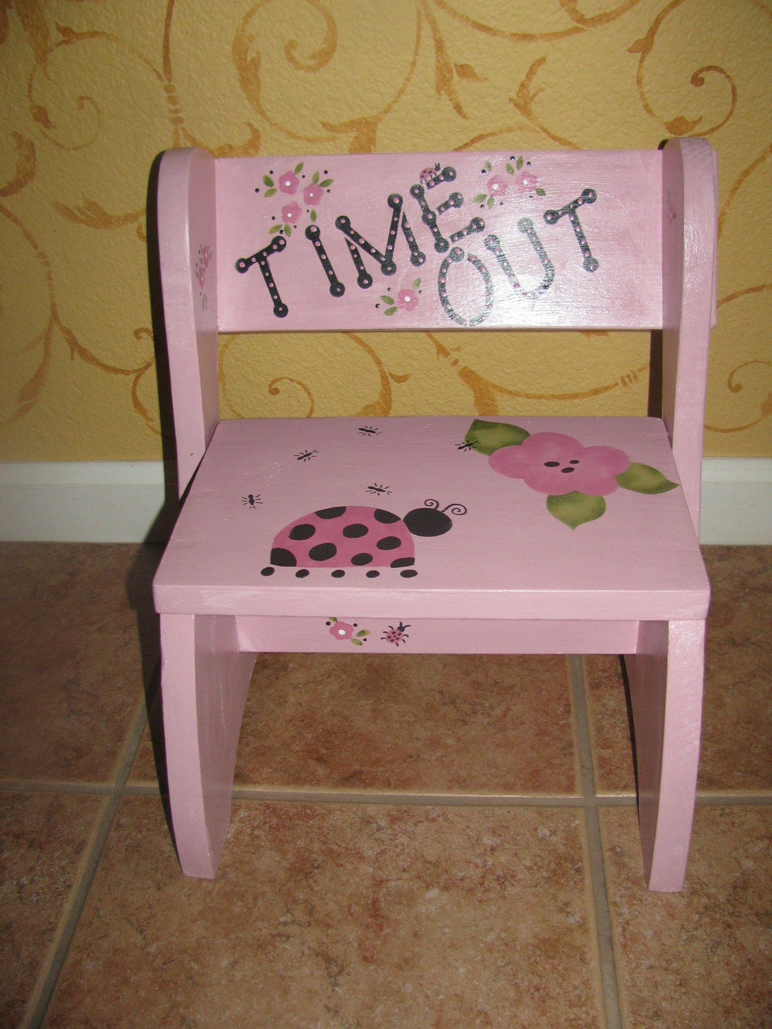 Toddler Step Stool And Time Out Chair By Bubee On Etsy