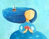 Miss Sea  print