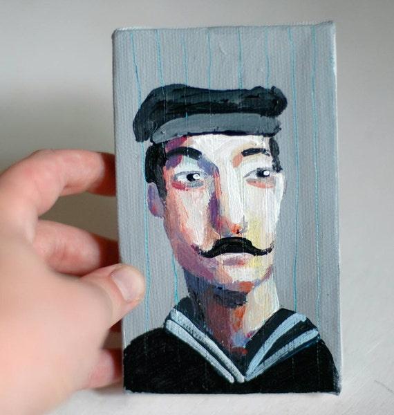 seeman Tiny portrait  original