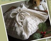 Biscuit Blanket  (TM) and Springtime Dish Cloth Knitting Patterns ONLINE DOWNLOAD