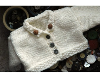Merrill Hand Knit Teddy Bear Sweater Pattern ONLINE DOWNLOAD