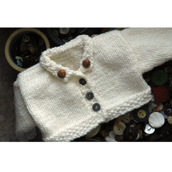 Merrill Hand Knit Teddy Bear Sweater Pattern by ILiveonaFarm