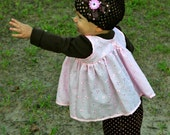 Pink Eyelet Baby Doll Top