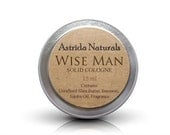 Solid Cologne Fragrance for Men with Shea Butter - Wise Man