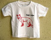 Red Fox (Vulpes Vulpes) Youth or Toddler T Shirt - SALE -  Was 17, Now 8