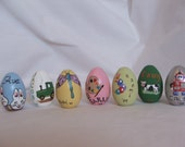 Custom Painted Easter Eggs