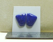 Lapis Cabochon Pair for Earrings