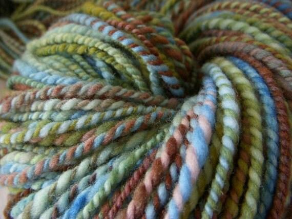 Afternoon At The Lake - Merino Hand Spun Yarn - 200 yards