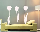 ShaNickers Wall Decal/Sticker-Tulips, Part I-FREE SHIPPING