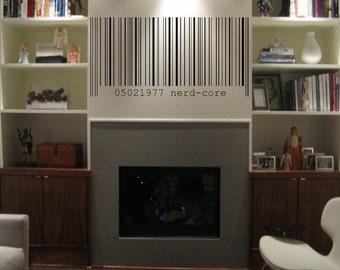 ShaNickers Wall Decal/Sticker-CUSTOMIZED BARCODE
