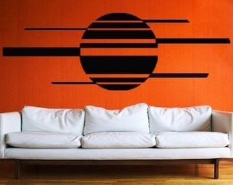 ShaNickers Wall Decal, Sunset, Free Shipping