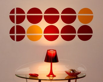 Circles Intersected ShaNickers Wall Decal