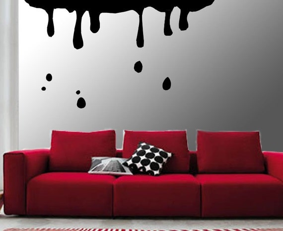 ShaNickers Wall Decal, Drippy, FREE SHIPPING