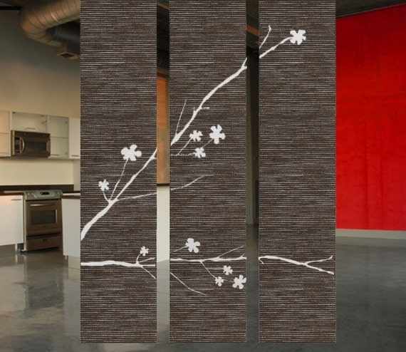 ShaNickers-Blossoms-Hanging Room Divider Set of 3 with FREE SHIPPING