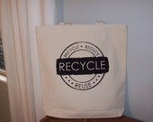 Fashionable Market Bag -  Recycle Reduce Reuse