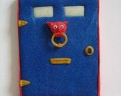 Fairy Door with Goblin Head Door Knocker