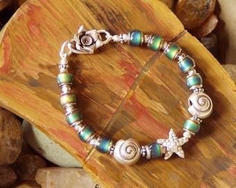 Mirage Rock Pool Fine Silver Sea Treasures Bracelet