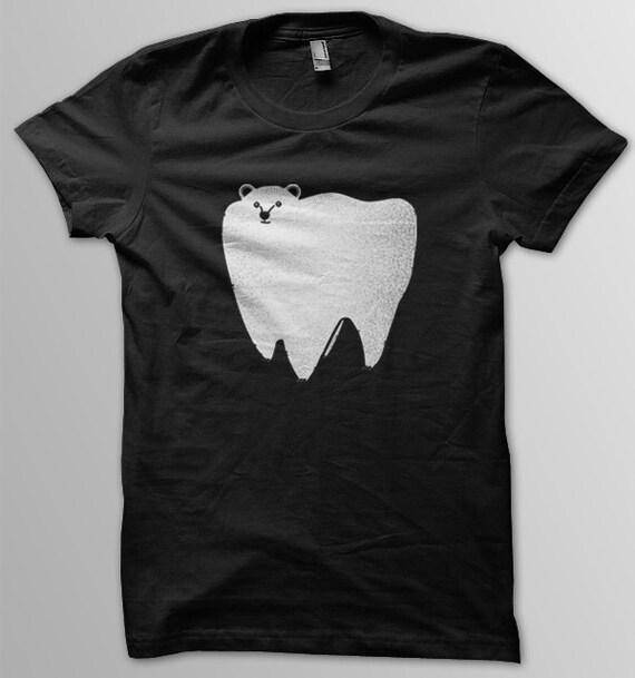 Molar Bear unisex black tee