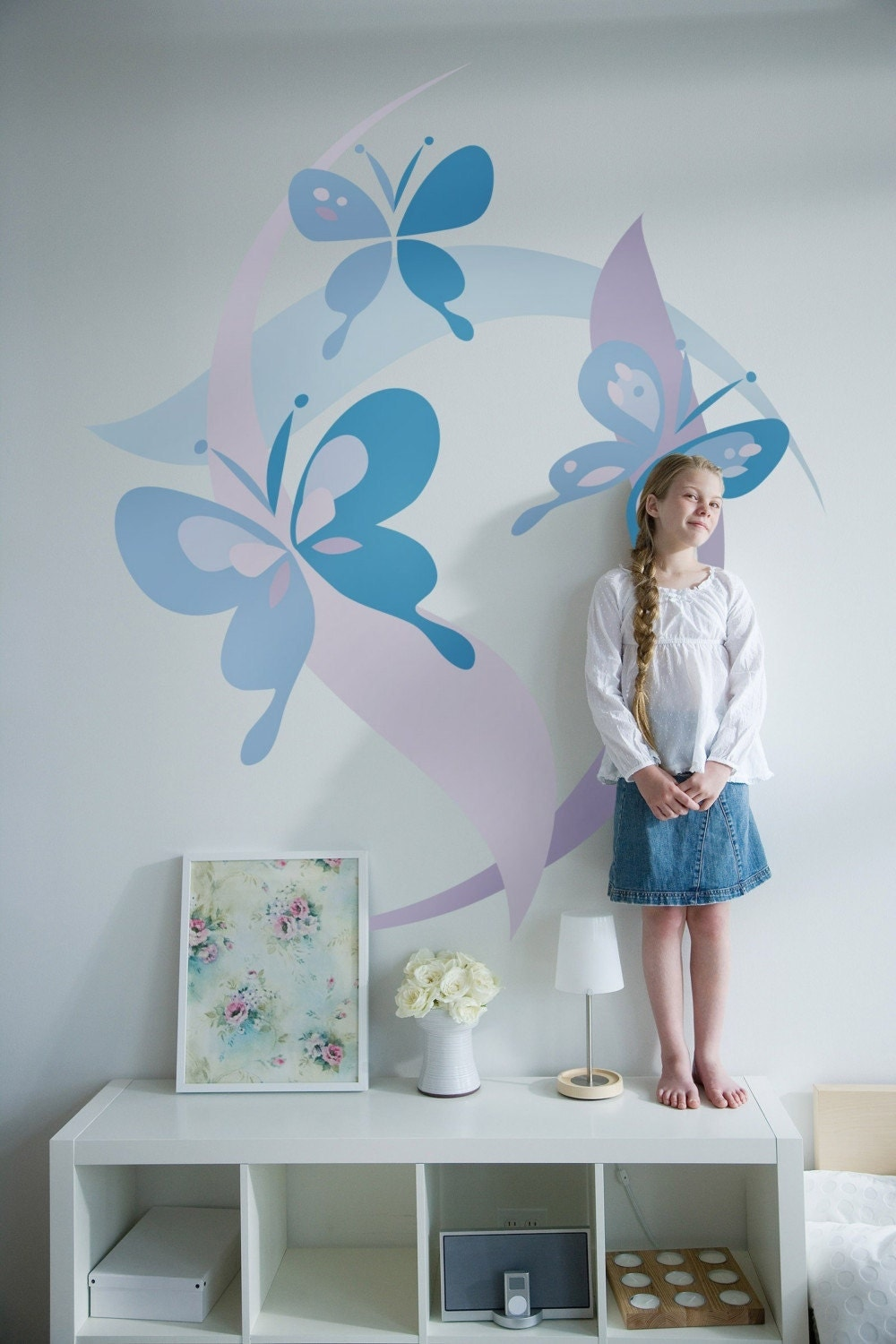 Kids Bedrooms Small Bedrooms Butterflies Murals Butterflies Room Kids Room Girls Room Room