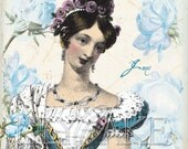 Jane Austen Jane Bennet Set of 3 Cards