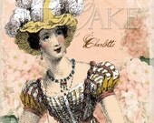 Jane Austen Charlotte Lucas Set of 3 Cards