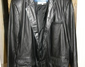 Vintage Leather Men's Tall Jacket by Saddlery Cooper Collections