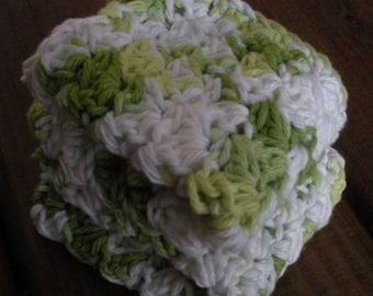 Cotton Crochet Dishcloth Set