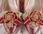 Vintage Style Shoe Clips