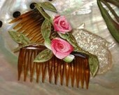 Fanasy Spring Floral Hair Combs