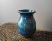 Small Green-Blue Vase