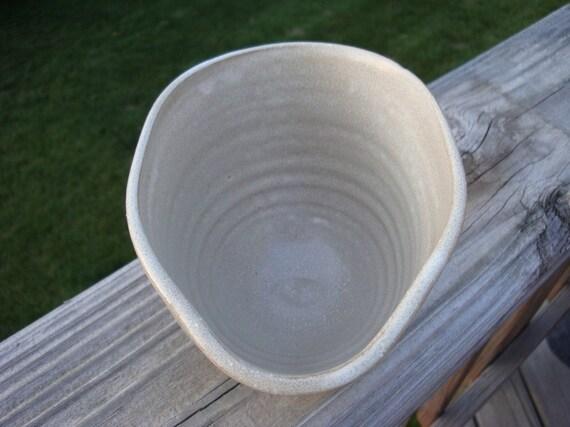 Oatmeal Stoneware Gravy Boat
