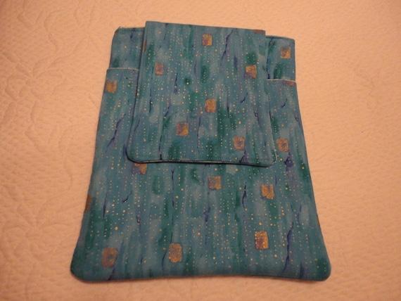 Ipad 1 or Ipad 2 Ereader Sleeve with Pocket