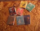 Miniature Set of Haunted Sheet Music
