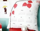 2010 Calendar Pillow by Le Papier Studio